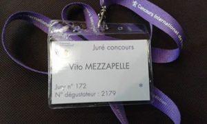 Badje da degustatore al Concours de Lyon